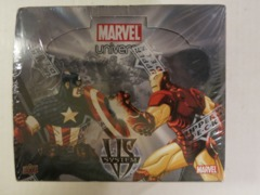 VS System: Sealed Booster Box Marvel Universe