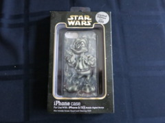 Star Wars Weekends 2014 iPhone 5/5S Case Donald Duck as Han Solo frozen in Carbonite