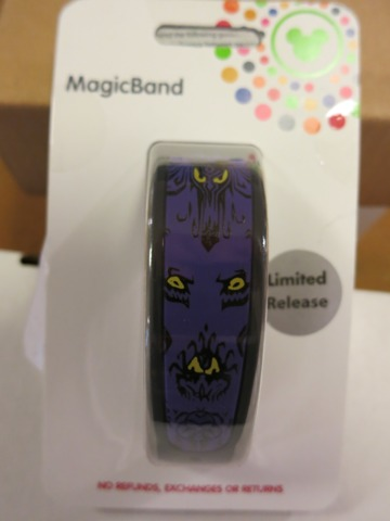 Haunted Mansion Limited Edition MagicBand