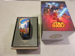 Star Wars Weekends 2015 MagicBand Donald Duck w/ Lightsaber