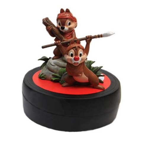 Chip and Dale as Ewoks Disney Star Wars Weekends 2014 With Pin
