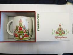 """Disney Magic Kingdom Starbucks """"Holiday Mug"""""""