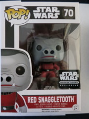 POP! Vinyl - Red Snaggletooth #70 Smugglers Bounty Exclusive