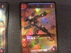 VS 2PCG Promo War Machine VSP-021 Foil