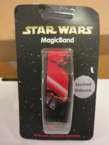 Star Wars Limited Edition - Kylo Ren MagicBand