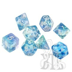 Dice Set - Emerald Waters