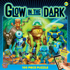 Glow in the Dark Robots (100 pc Puzzle)