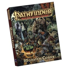 Pathfinder: Monster Codex (Pocket Edition)