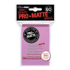 Pro-Matte Small Sleeves - Pink 60ct.
