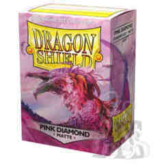 DRAGON SHIELD: MATTE PINK DIAMOND