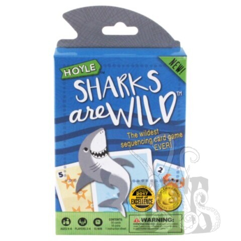 Child Card Games: Sharks Are Wild