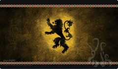 A Game of Thrones LCG - House Lannister Playmat