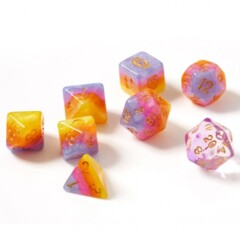 Dice Set - Tahitian Sunset