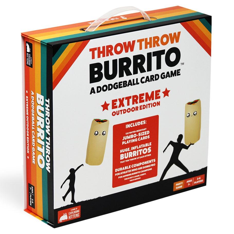 Throw Throw Burrito - Extreme Outdoor Edition