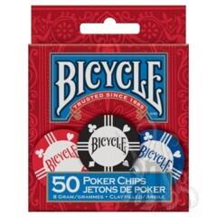 Poker Chips: 8 Gram Clay (50)