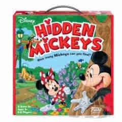 DISNEY: HIDDEN MICKEYS