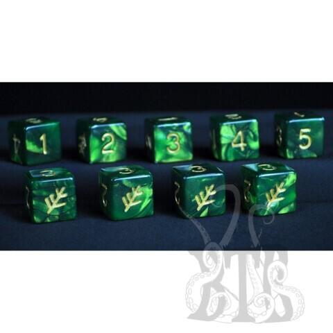Elder Dice D6 Set - Lovecraft Elder