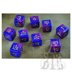 Elder Dice D6 Set - Sigil of Dreamlands