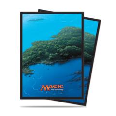 Deck Protectors: MTG - Unhinged Land - Island (80)