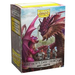 Dragon Shield Matte Art Sleeves: Father's Day Dragon