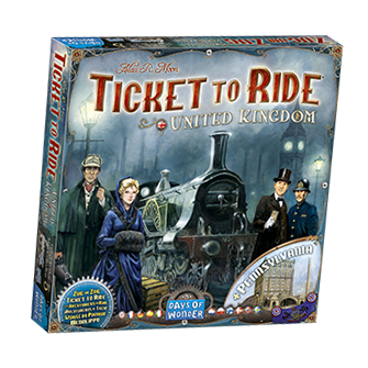 Ticket to Ride: Map Collection 5: United Kingdom