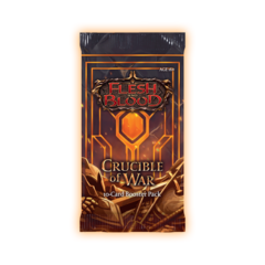 Flesh and Blood: Crucible of War Booster Pack First Edition