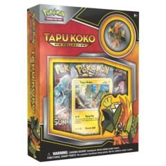 Tapu Koko Pin Collection Box