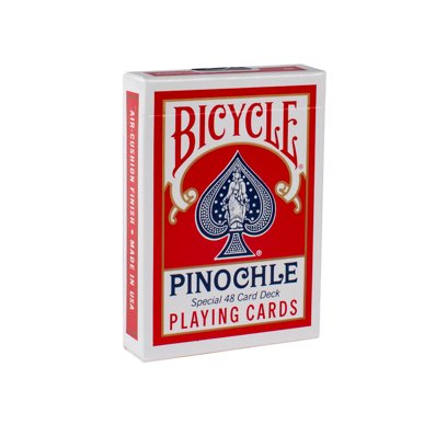 Bicycle - Pinochle Red