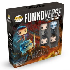 Pop! Funkoverse Strategy Game Game of Thrones 100 Base Set