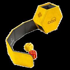 Gamegenic - CATAN Hexatower Premium Dice Tower - Yellow