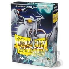 Dragon Shield Sleeves: Japanese Matte White (Box Of 60)