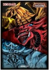 Playmat: YGO: Slifer, Obelisk, & Ra