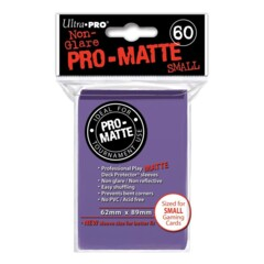Pro-Matte Small Sleeves - Purple 60ct.