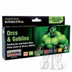 Game Color: Orcs & Goblins