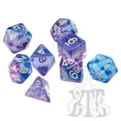 Dice Set - Violet Betta