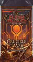 Crucible of War Booster Pack - Unlimited - Flesh &Blood