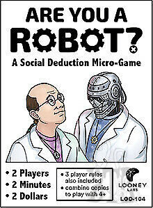 Are You A Robot? Card Game