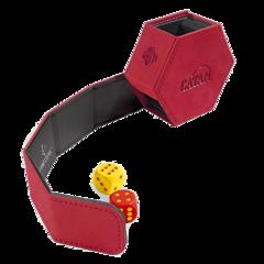 Gamegenic - CATAN Hexatower Premium Dice Tower -Red