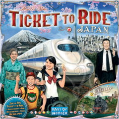 Ticket To Ride - Map Collection V7 - Japan and Italy