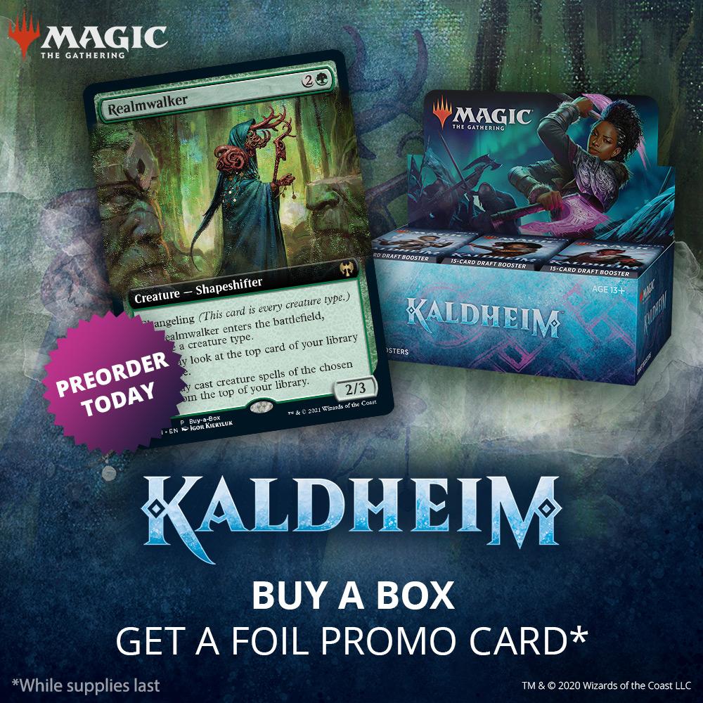 Kaldheim Draft Booster Box - Early Release w/Buy-A-Box Promo