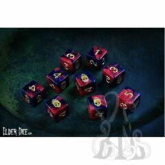 Elder Dice D6 Set - Mark of Necronomicon