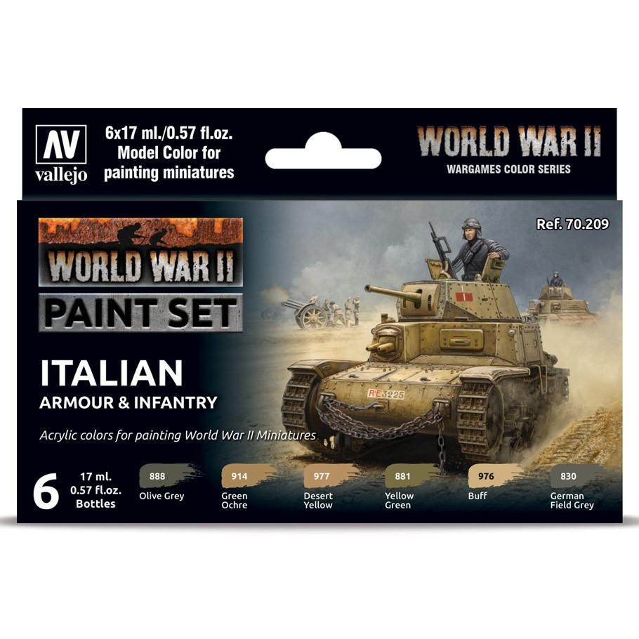 MC: WWII: Set: Italian Armour & Infantry
