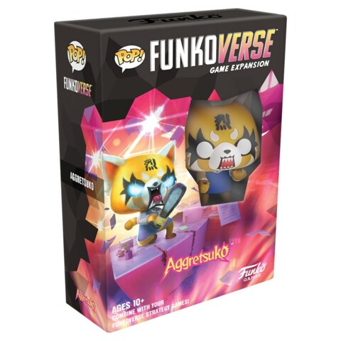 Pop! Funkoverse Strategy Game Expansion: 100 Aggretsuko