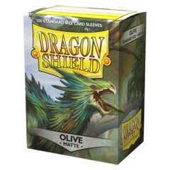 Dragon Shield: Matte Olive (Box of 100)