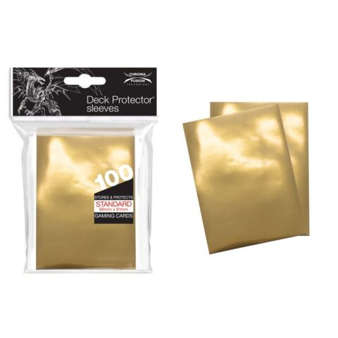 Standard Deck Protectors - Vintage Gold (100 Ct. )