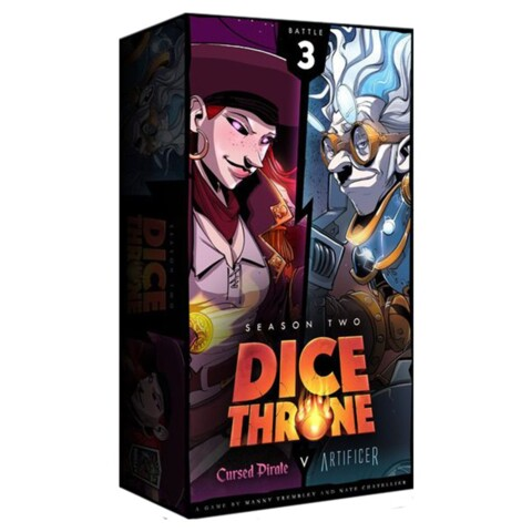 Dice Throne: Season Two - Cursed Pirate Vs Artificer