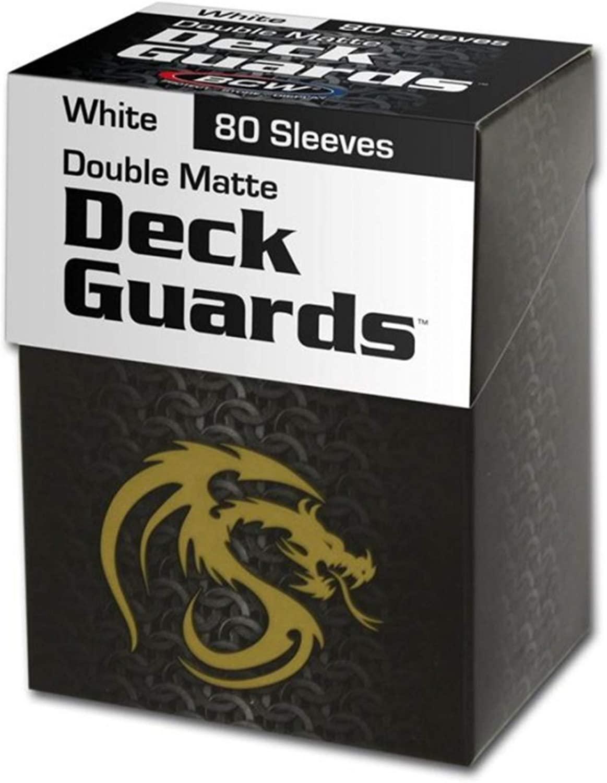 Double Matte Deck Guards - White (80)