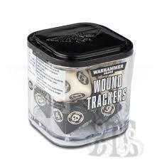 Citadel: Wound Trackers Dice Cube - Ivory