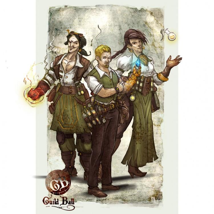 Guild Ball: Alchemist: Starter Set