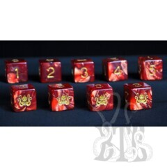 Elder Dice D6 Set - Cthulhu